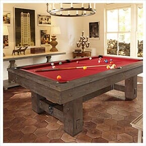 Red Billiard Table U2014 Billiard Supplies In Melbourne, FL