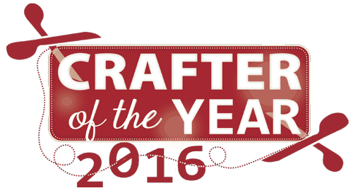 Crafter of the year 2016 logo