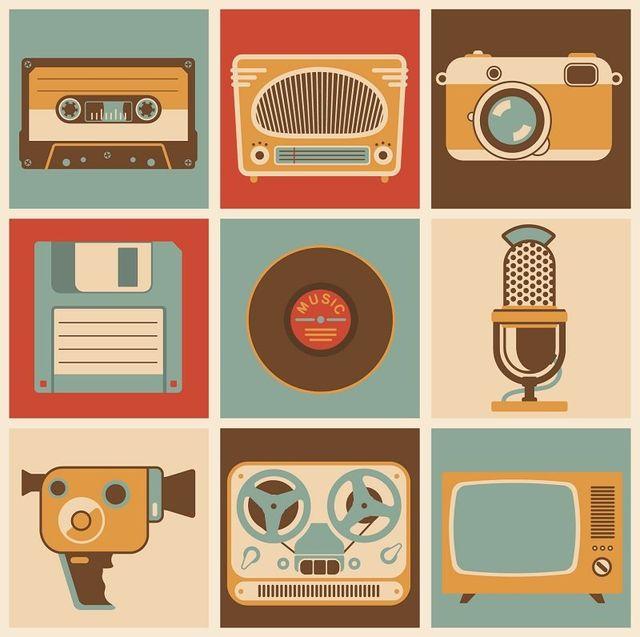 Icone di supporti media