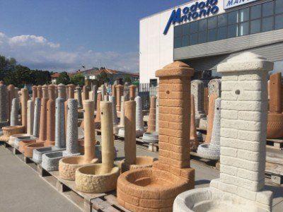Fontanella Da Giardino In Mattoni : Fontane da giardino in mattoni tufo per giardino fontana da