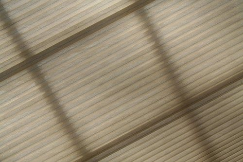 Woven honeycomb shades