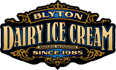Blyton Ice Cream logo
