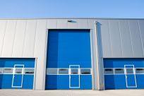 Entrances to storage facilities in Anchorage, AK