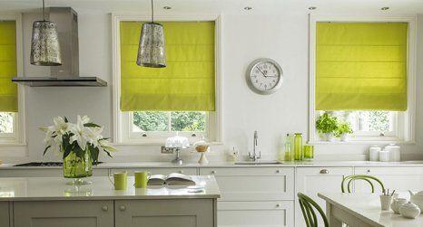 Trendy Roman blinds