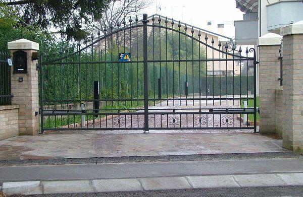 Cancello di ingesso a Padova