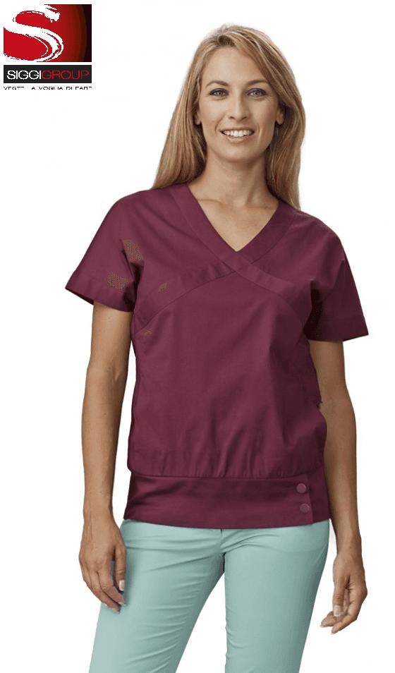 camice da chef donna viola