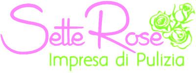 IMPRESA DI PULIZIE SETTE ROSE - LOGO