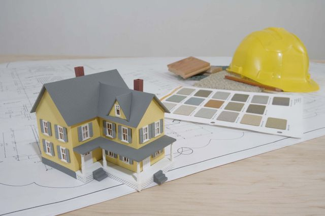 House remodeling is planned on paper, and in models