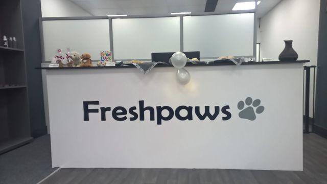 freshpaws front desk