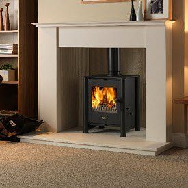 Multi-fuel and solid fuel stoves and fires