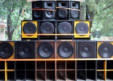 Sound systems in bulk
