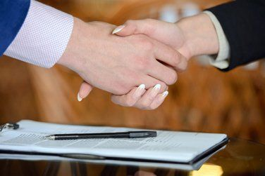 image of a hand shake