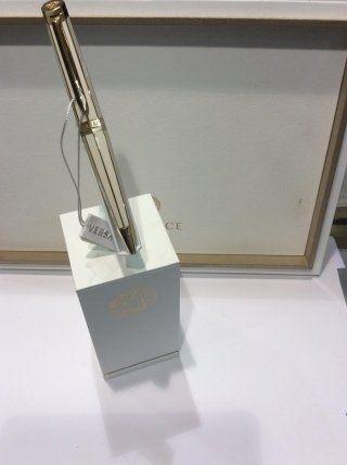 Penna stilografica in argento