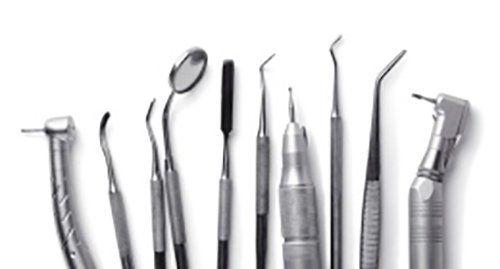 Attrezzature mediche di uno studio di odontoiatria