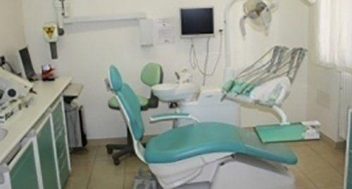 Riunto odontoiatrico in uno studio