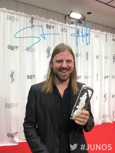 Steve Hill Juno Award Winner