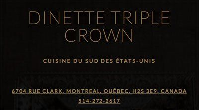 Dinette Triple Crown