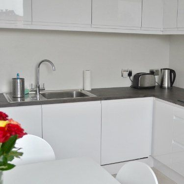 Stylish kitchen installation