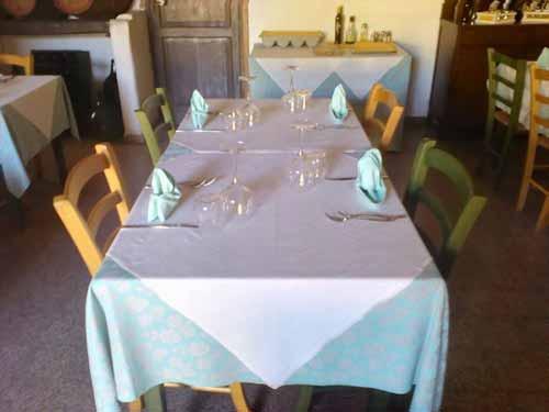 Tavolo da pranzo all'osteria L'Ugghiularu Milazzo