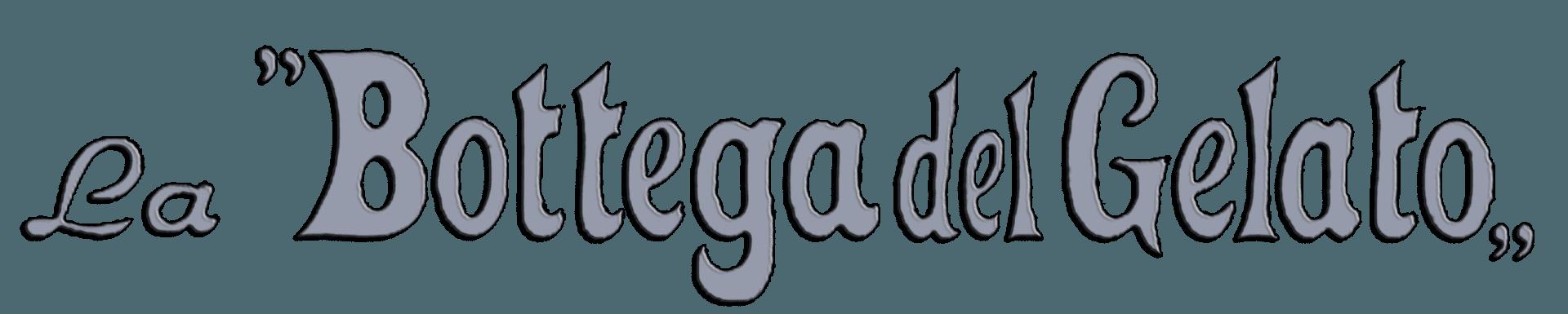 LA BOTTEGA DEL GELATO - LOGO