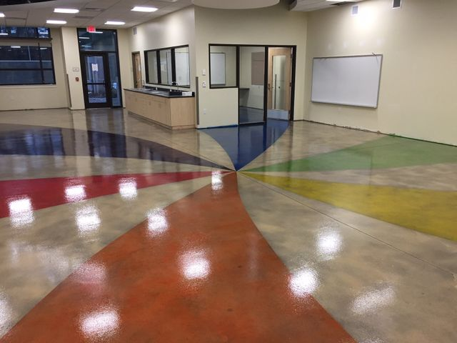 Stained Concrete Jacksonville Nc