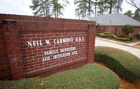Neil W. Carmony DDS exterior sign