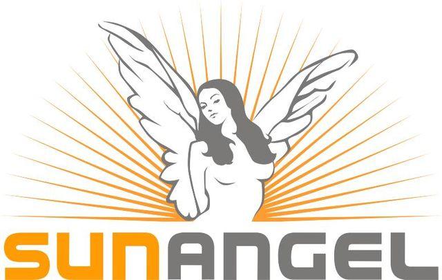 sun angel logo