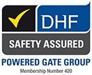 DHF Safety Assured logo