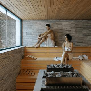 forniture per la sauna