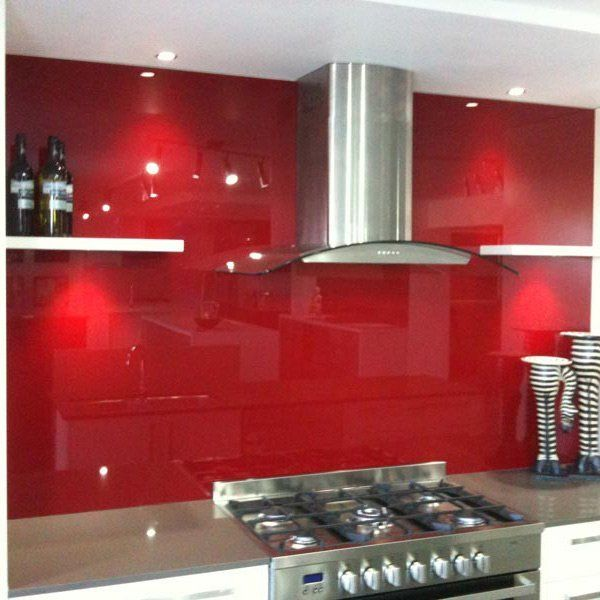 splashback in kitchen