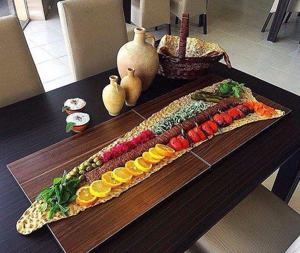 Kabab Barg + Noon Sangak