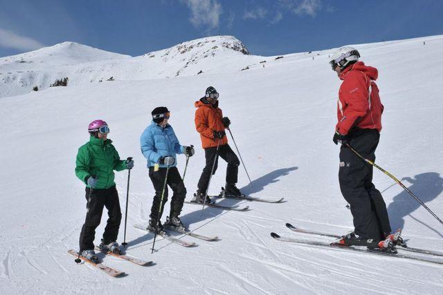 ski training in iran