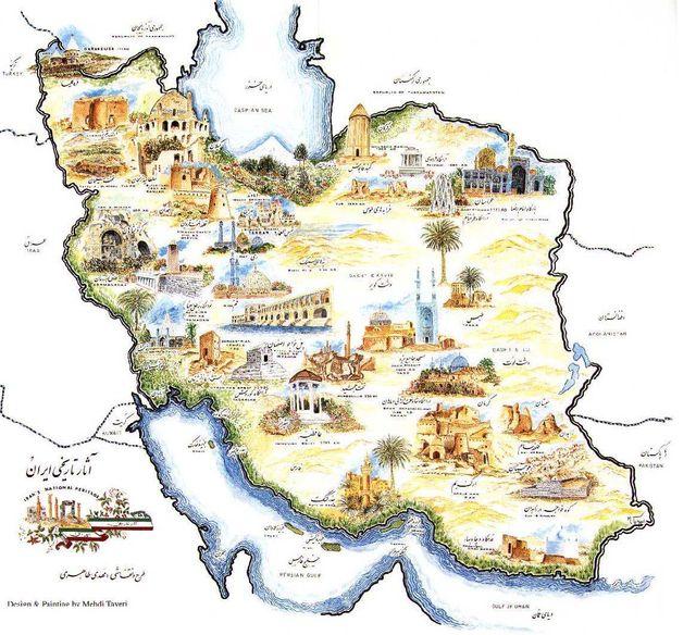 Iran Kaart