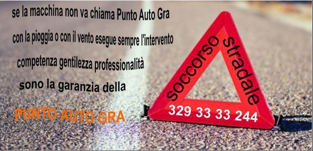 Messaggio della carrozzeria Punto Auto GRA a Roma