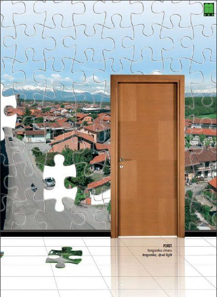 Collezione porte in legno