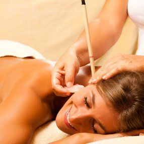 Ear candling by professionals