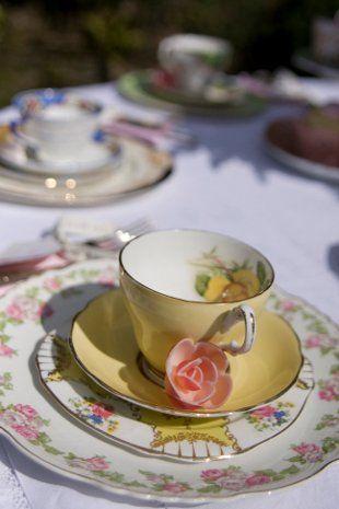Tea Service - Devon - Too Pretty By Far