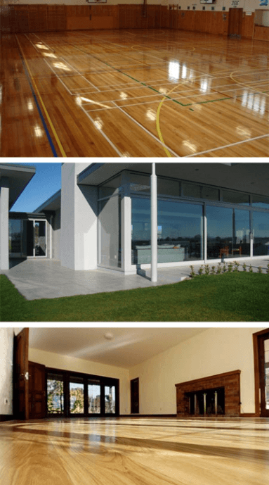 Floor staining services performed in the Bay of Plenty area