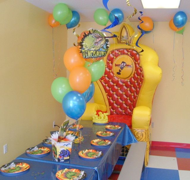 Inflatable Jump Zone Parties