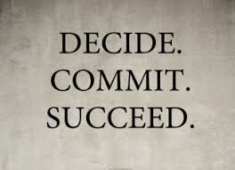 Decide commit and succeed