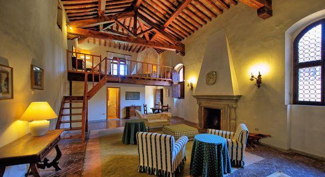 interno di una casa a Montespertoli