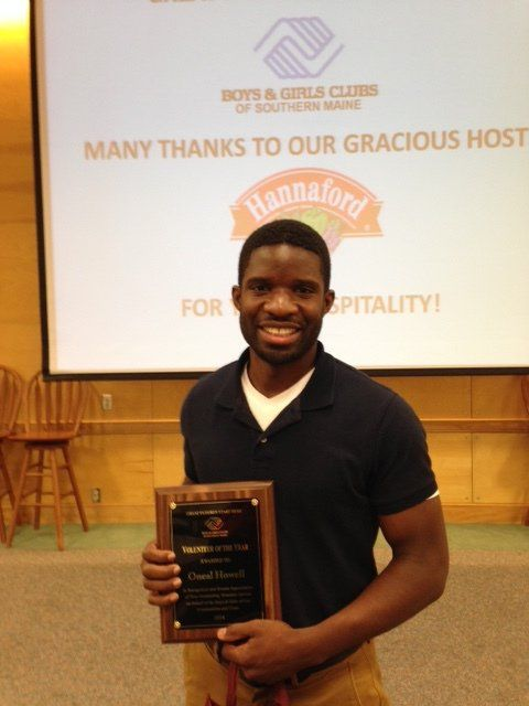 Oneal Howell, Volunteer of the Year