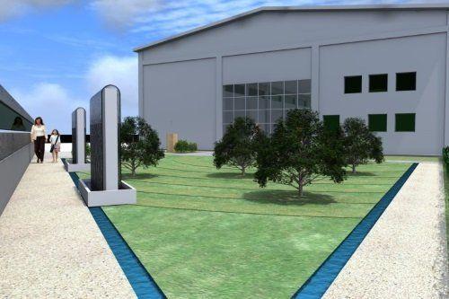 Immagine del progetto della nuova casa funeraria