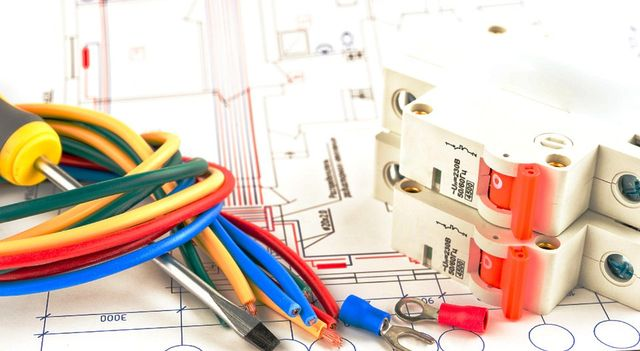 Electrical wiring plans and electrical tools