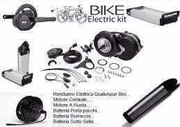 Kit Bici Elettrica Pedelec