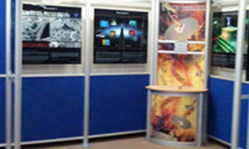 Exhibition Stand Builders Edinburgh : Modular exhibition stands provided by citrus displays ltd
