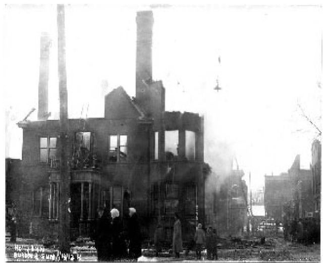 Holly Hotel Fire 1913