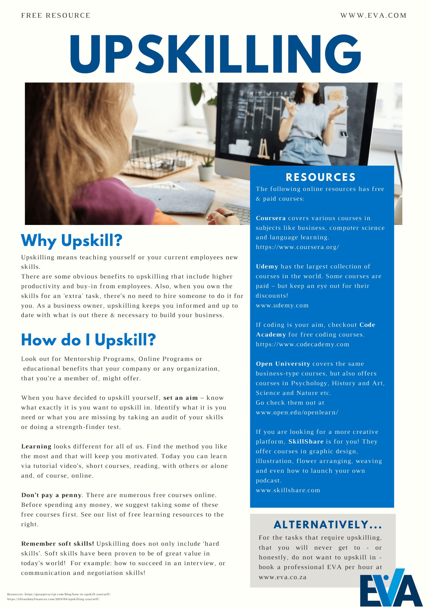 upskilling form