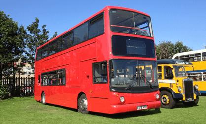 mega-decker buses
