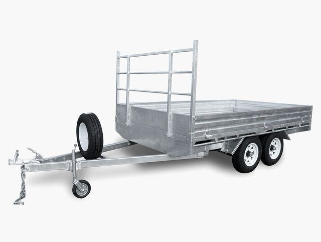 12x7 flat top trailer